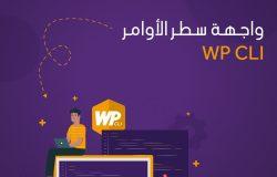 واجهة سطر الأوامر WP CLI