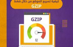 كيفية تسريع الموقع من خلال ضغط GZIP