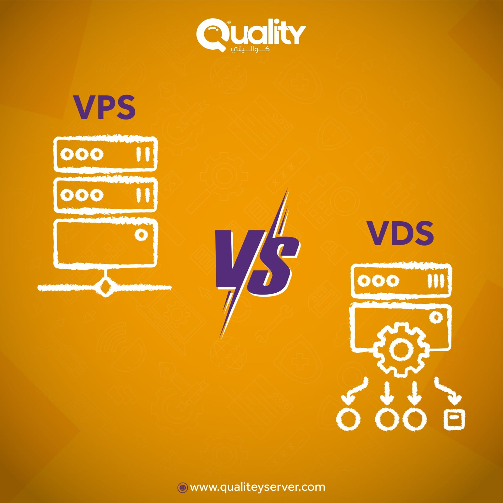 السيرفرات المشتركة VPS والسيرفرات الخاصة VDS والفرق بينهما