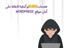 هجمات DDOS وكيفية الحفاظ على أمان موقع WORDPRESS